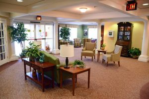 Foyer at Charter Senior Living Northpark Place